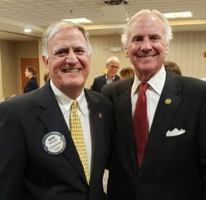 Gov. Henry McMaster at North Charleston Lunch Rotary