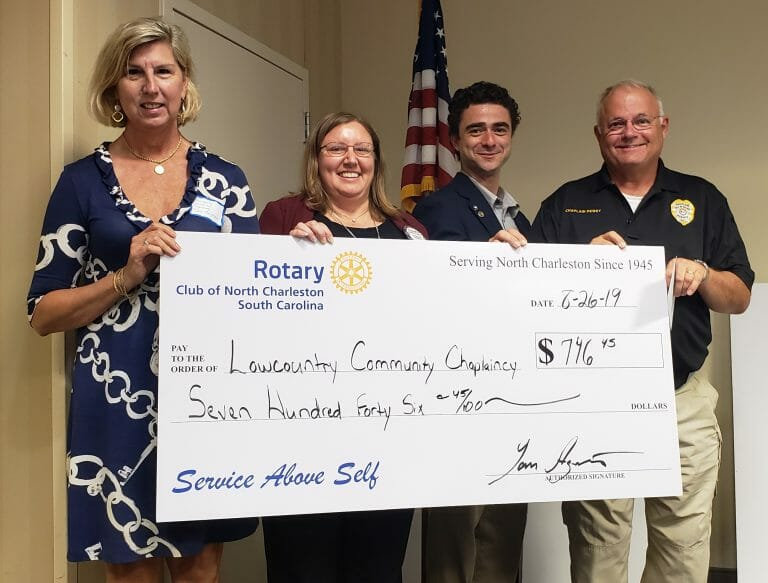 Rotary awards 2019 - - Lowcountry Community Chaplaincy
