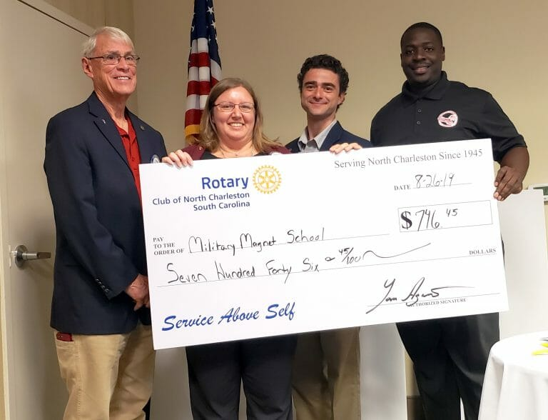 Rotary awards 2019 - - Military Magnet School